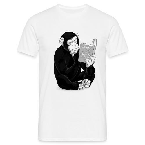 Monkey Evolution for him - Mannen T-shirt