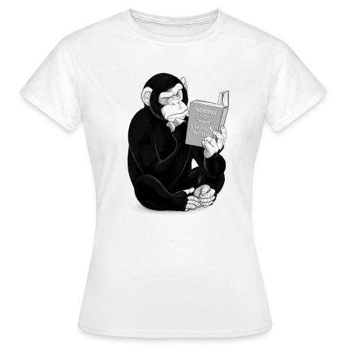 Monkey Evolution for her - Vrouwen T-shirt