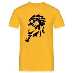 Yellow Black - T-shirt Homme