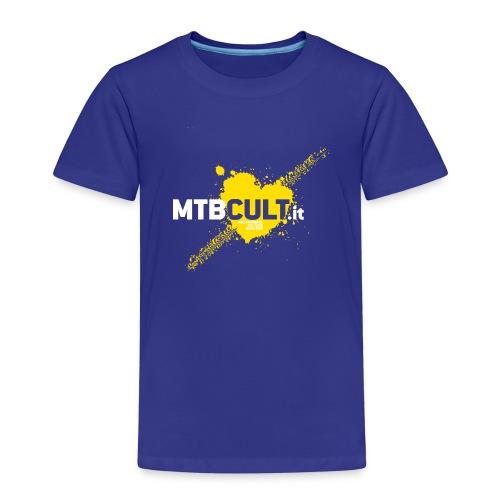 MtbCult T-Shirt bambino cotone - Maglietta Premium per bambini