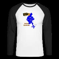 Pitkähihaiset paidat ~ Miesten pitkähihainen baseballpaita ~ Burma Scootterilla unisex long