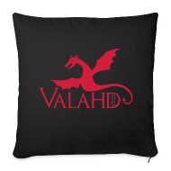 Altro ~ Copricuscino per divano, 44 x 44 cm ~ Valahd (fly) - copricuscino Game of Thrones