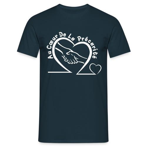 Tee Shirt Homme - Logo Blanc - T-shirt Homme