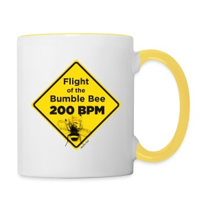 Flight of the Bumble Bee Mug - Contrasting Mug