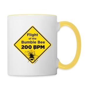 Flight of the Bumble Bee Mug - Contrasting Mug