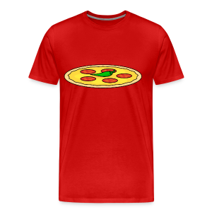 Food: Pizza - Männer Premium T-Shirt