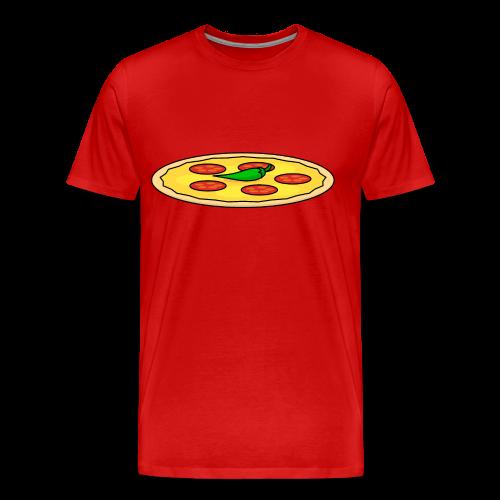 Food: Pizza - Männer Premium T-Shirt