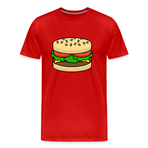 Food: Hamburger - Männer Premium T-Shirt