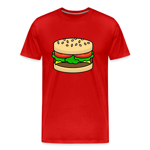 Food: Hamburger - Männer Premium T-Shirt