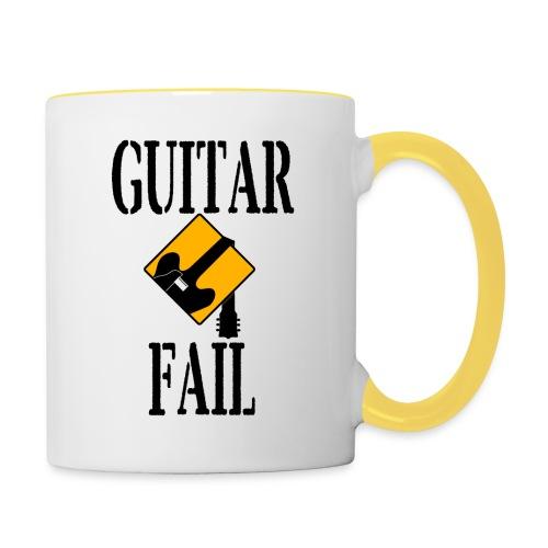 Guitar Fail Mug - Contrasting Mug