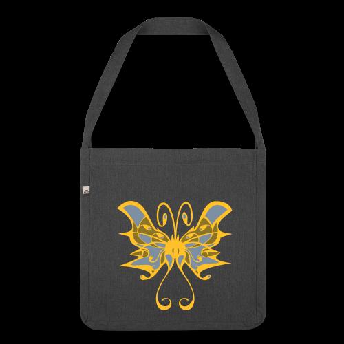 TIAN GREEN Tasche Bag02 -  Schmetterling - Schultertasche aus Recycling-Material