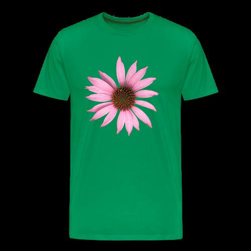 TIAN GREEN Shirt Men - Sonnen Hut - Männer Premium T-Shirt