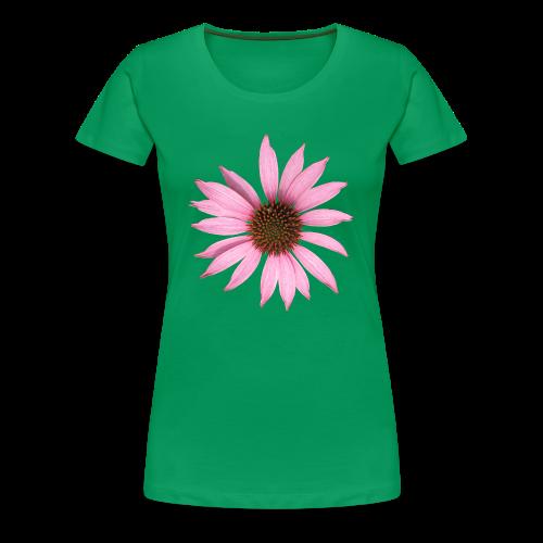 TIAN GREEN Shirt Women - Sonnen Hut - Frauen Premium T-Shirt