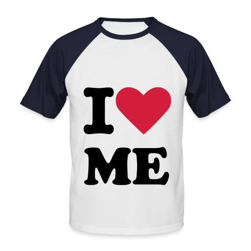 LOVE ME  T-Shirt - Männer Baseball-T-Shirt