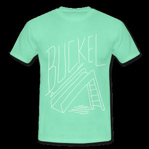Buckel, Runter, Rutsche - Männer T-Shirt