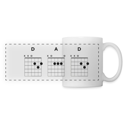 My Dad Plays Guitar - Panoramic Mug