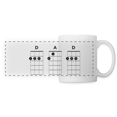 My Dad Plays Ukulele Mug - Panoramic Mug