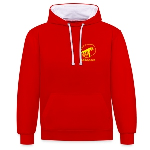 HARKhoodie - red&yellow CEO edition - Contrast Colour Hoodie