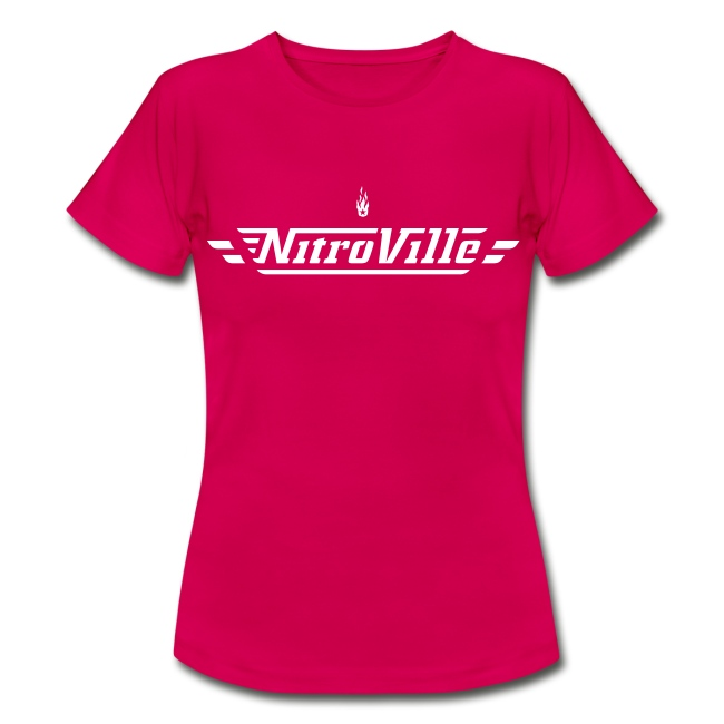 NITROVILLE official band t-shirt for women