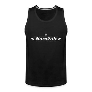 Nitroville Tank Top Fire Brand version - Men's Premium Tank Top