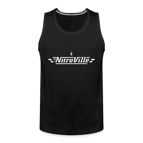Nitroville Tank Top Fire Brand version - Men's Premium Tank Top
