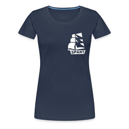 Shirt met borstlogo - Vrouwen Premium T-shirt
