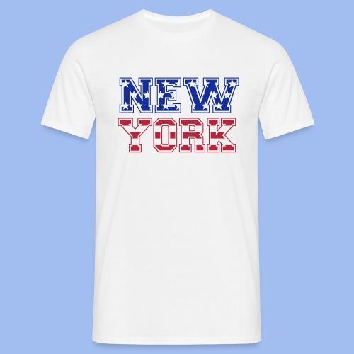 SHIRT NEW YORK - Männer T-Shirt
