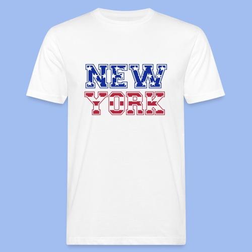 SHIRT NEW YORK - Männer Bio-T-Shirt