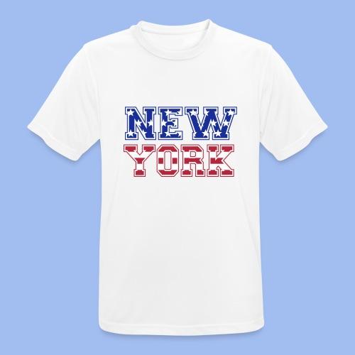 SHIRT NEW YORK - Männer T-Shirt atmungsaktiv