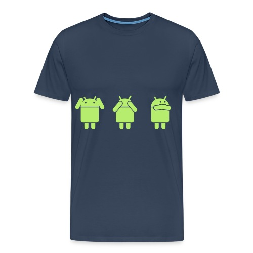 Android Meme - Maglietta Premium da uomo