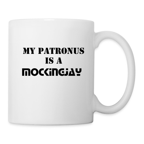 My patronus is a mockingjay - Mug