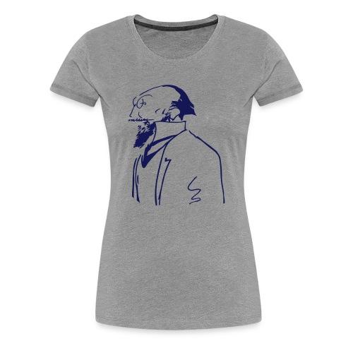 Satie Sketch Girl - Vrouwen Premium T-shirt