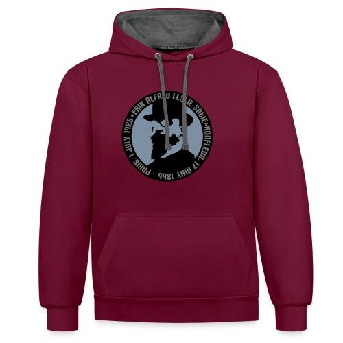 Erik Satie Contrast Hoodie - Contrast hoodie