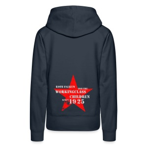 Kapuzenpullover Working Class Children (female) - Frauen Premium Hoodie