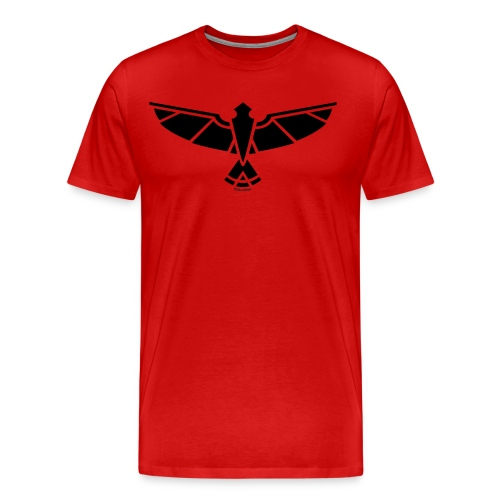 Eagle Logo B: SiLee Films - Men's Premium T-Shirt