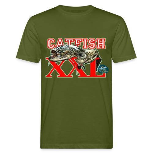 XXL catfish - T-shirt ecologica da uomo