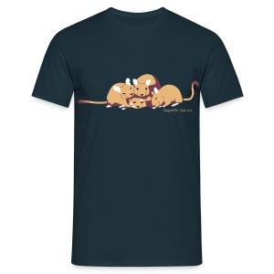 Kuschelhaufen DHS - Männer T-Shirt
