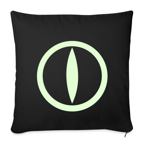 Federa Glow in the dark - Sofa pillow cover 44 x 44 cm