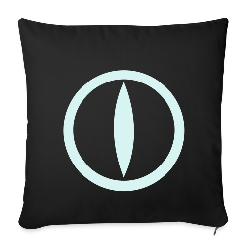 Federa con logo in Power reflex - Sofa pillow cover 44 x 44 cm