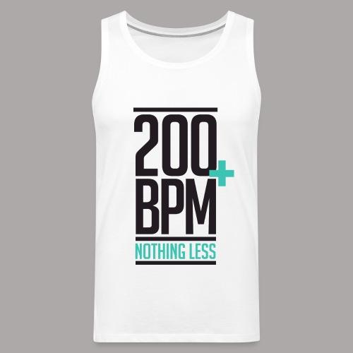 200 BPM NOTHING LESS / TANKTOP MEN #1 - Mannen Premium tank top