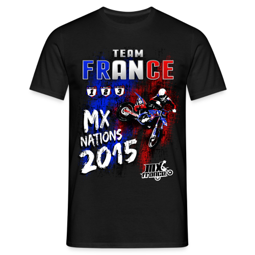 Team FRANCE MX Nations 2015 - T-shirt Homme