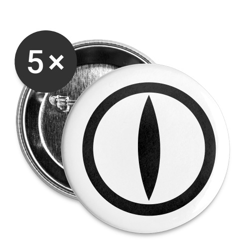 5pack spille medie Katseye logo - Buttons medium 1.26/32 mm (5-pack)