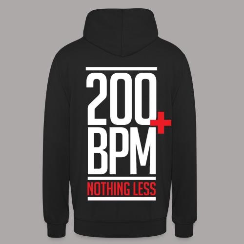 200 BPM NOTHING LESS / SWEATER MEN  - Hoodie unisex