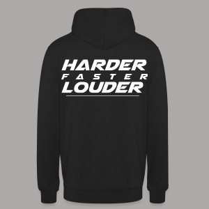 HARDER FASTER LOUDER / SWEATER LADY - Hoodie unisex