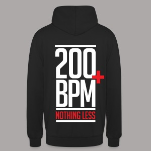 200 BPM NOTHING LESS / SWEATER LADY - Hoodie unisex