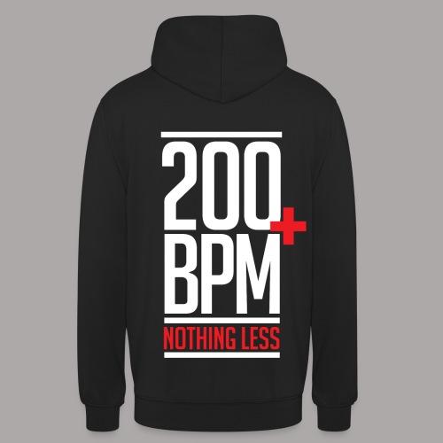 200 BPM NOTHING LESS / SWEATER LADY - Hoodie unisex