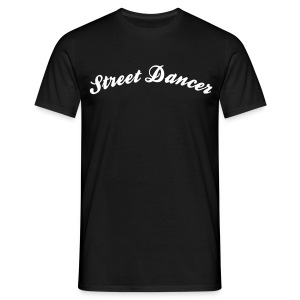 street dancer cool curved logo - Men's T-Shirt