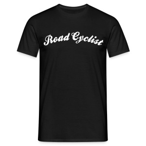 road cyclist cool curved logo - Men's T-Shirt