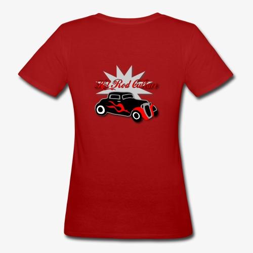 Hot rod Tee  - Women's Organic T-Shirt