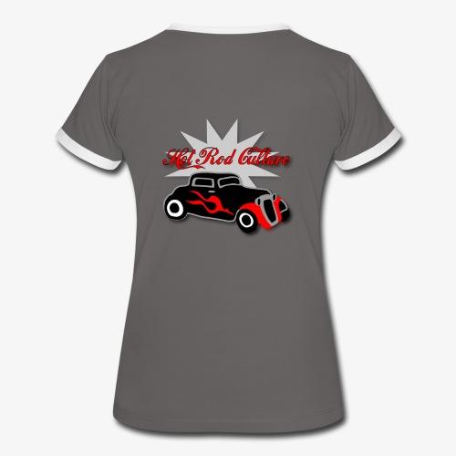Hot rod Tee  - Women's Ringer T-Shirt